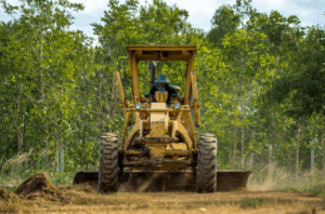 Atlanta landscape grading land clearing tree removal service in Atlanta Ga