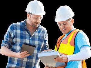 Atlanta grading contractors landscape company happy team