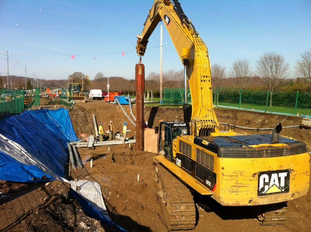 Atlanta landscape grading excavation contractors company