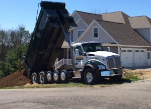 Atlanta Ga Dirt hauling and grading project
