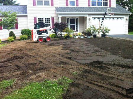Atlanta landscape grading contractors company
