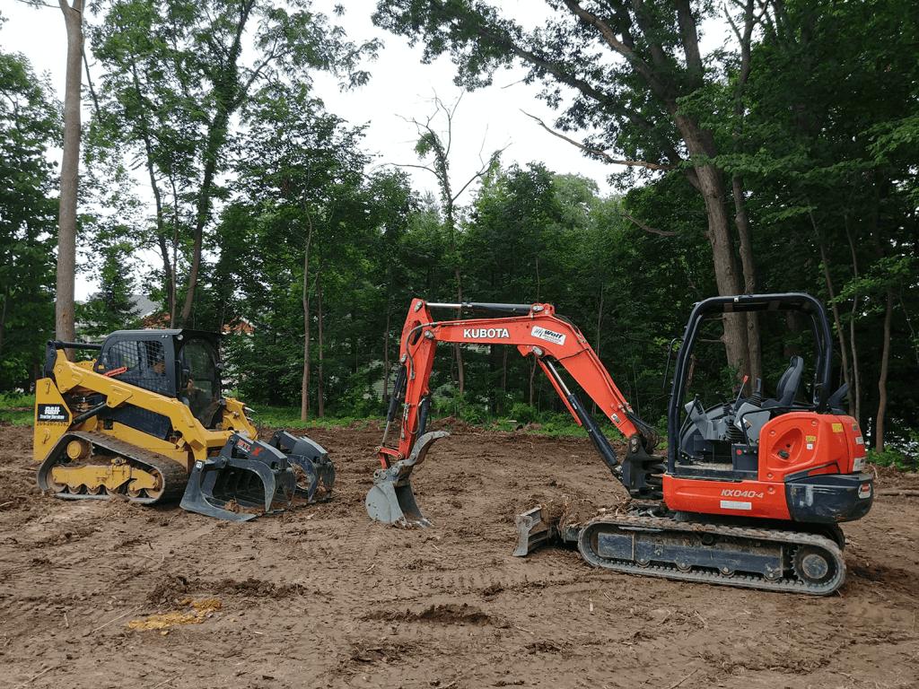 Atlanta land clearing tree removal service